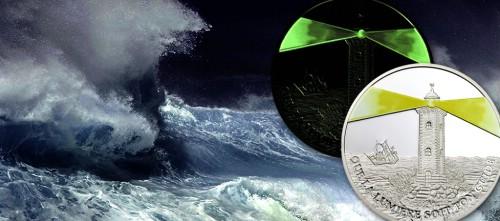 10 f, Latarnia morska Muanda - moneta fluorescenyjna, 2006