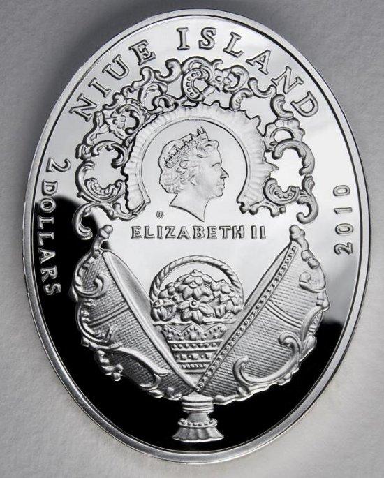 2 $, Historia Jaja Faberge - Jajko Koronacyjne, 2010