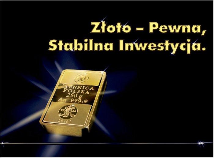 złote sztabki z Polski gold bars from Poland
