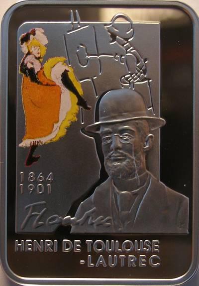 www.numizmatyczny.pl 1 dolar, Malarze Świata - Henri de Toulouse Lautrec (1864-1901), 2008