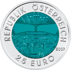 25 Euro, Austriacka Awiacja, 2007