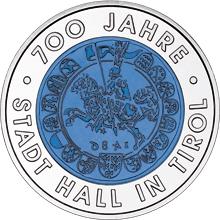 25 Euro, 700 lat miasta Hall w Tyrolu, 2003