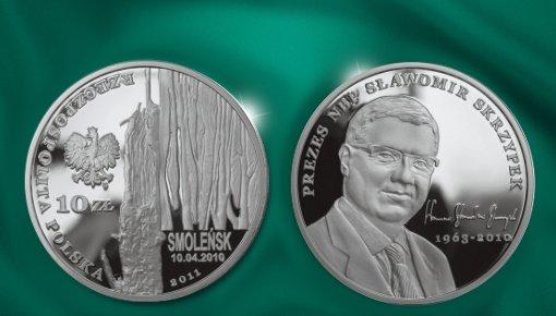 Smoleńsk - pamięci ofiar 10.04.2010 r. - Prezes NBP - Sławomir Skrzypek (1963-2010)