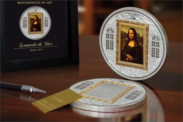 20 dollars, Arcydzieła sztuki - Masterpieces of Art - Leonardo da Vinci - Mona Lisa (1503-1507), 2009