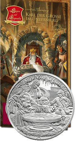 Opowieści i legendy Austrii - Karol Wielki w Untersberg (742-814)