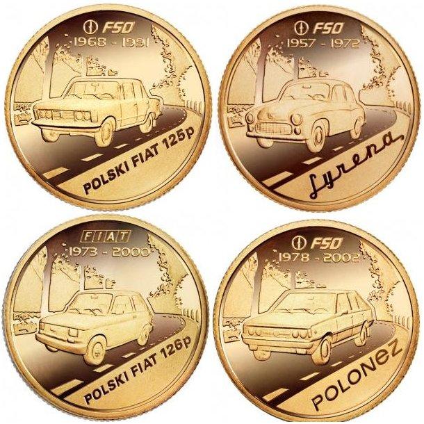 Kolekcja - Ikony Polskiej Motoryzacji - Syrena, Fiat 125p, Fiat 126 p, Polonez