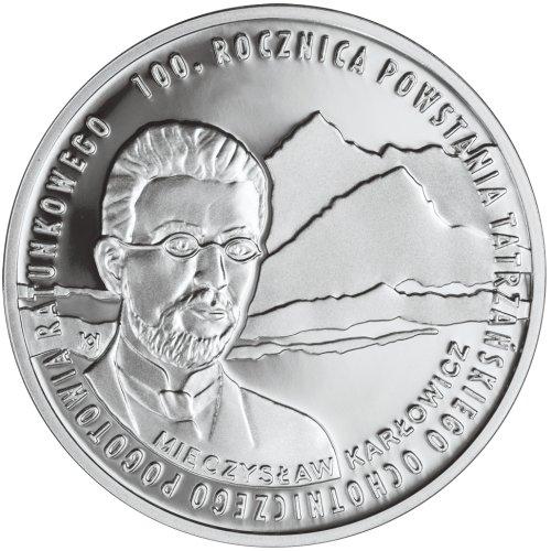 10 zł, 100. rocznica powstania Tatrzańskiego Ochotniczego Pogotowia Ratunkowego, 2009