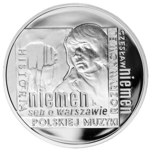 10 zł, Historia Polskiej Muzyki Rozrywkowej - Czesław Niemen, 2009