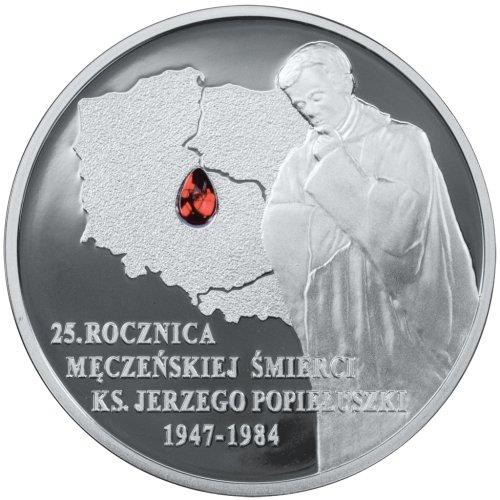 10 zł, 25 rocznica śmierci Księdza Jerzego Popiełuszki, 2009