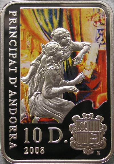 www.numizmatyczny.pl 10 dinerów, Malarze Świata - Pierre Auguste Renoir (1841 - 1919), 2008