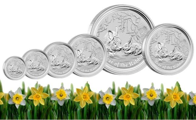 www.numizmatyczny.pl 1 dolar, Srebrna moneta lokacyjna Rok Królika 1oz, 2011