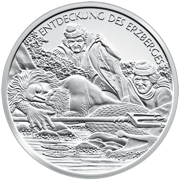 Srebrne monety kolekcjonerskie o nominale 10 Euro Opowieści i legendy Austrii