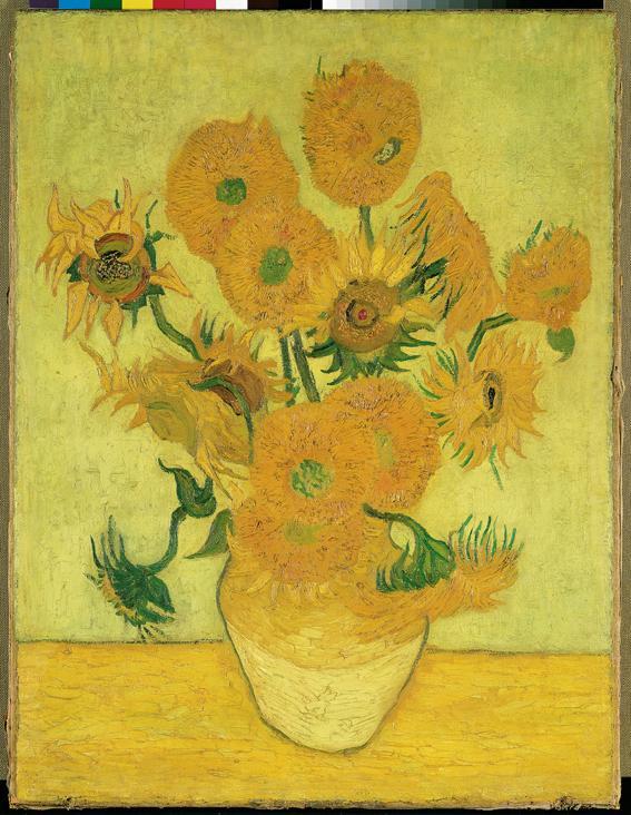 20 dollars, Arcydzieła sztuki - Masterpieces of Art - Vincent van Gogh - Słoneczniki (1888), 2010