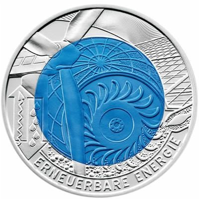 25 Euro, Renewable Energy - Energia odnawialna, 2010