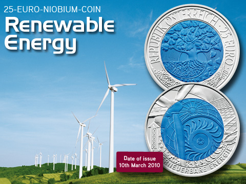 25 Euro, Renewable Energy - Energia odnawialna, 2010