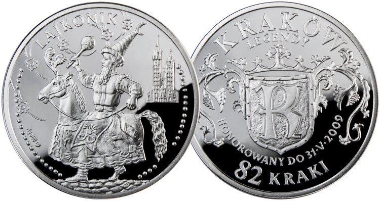82 Kraki, Legendy krakowskie - Legenda o Lajkoniku - Kraków, 2009