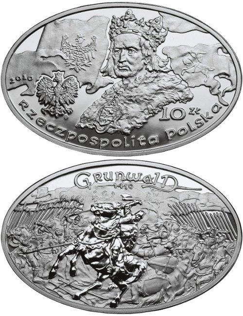 10 zł, Wielkie bitwy - Grunwald - 1410 rok, 2010