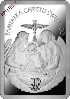 Sztabka srebrna Chrzest