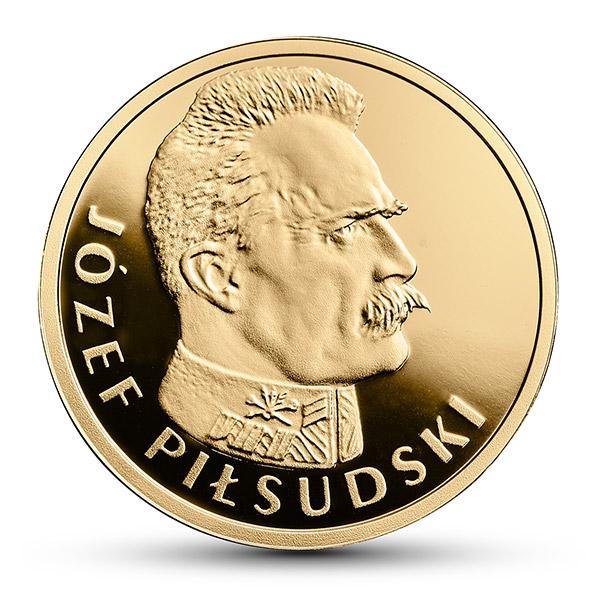 Józef Piłsudski moneta