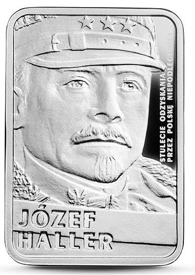 Józef Haller - srebrna