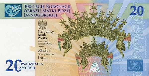 banknot koronacja
