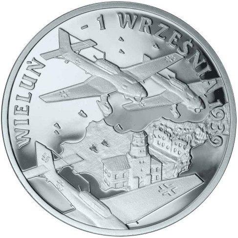 10 zł, Wrzesień 1939 r. - Wieluń, 2009