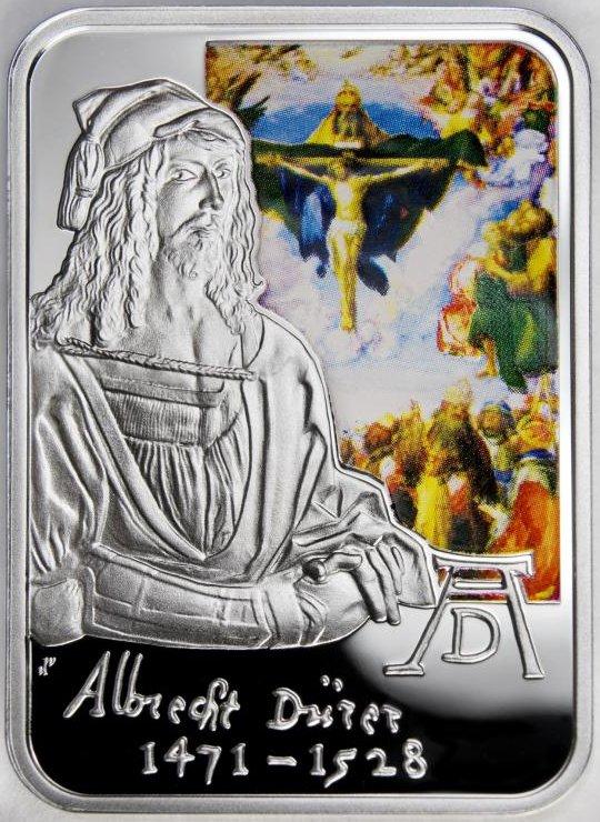 www.numizmatyczny.pl 10 dinerów, Malarze Świata - Albrecht Durer (1471-1528), 2010