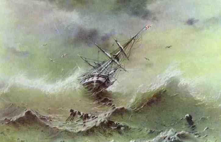 100 dram, Malarze Świata - Iwan Aivazovsky (Ajwazowski) (1817-1900), 2006