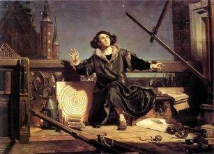 Jan Matejko - obraz Astronom Kopernik, czyli rozmowa z Bogiem www.numizmatyczny.pl