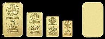 10 gramów złota - złota sztabka lokacyjna - Szwajcaria www.numizmatyczny.pl złote monety inwestycyjne złote sztabki lokacyjne