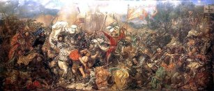 Jan Matejko - obraz Bitwa pod Grunwaldem (1878)