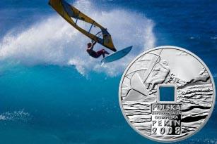 10 zł, Igrzyska XXIX Olimpiady - Pekin 2008, otwór kwadratowy, 2008