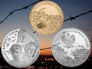 20 z�, Polacy ratuj�cy �yd�w: Irena Sendlerowa, Zofia Kossak-Szczucka, siostra Matylda Getter, 2009