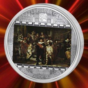 20 dollars, Arcydzieła sztuki - Rembrandt van Rijn - Wymarsz strzelców / Straż Nocna (Night Watch - 1642), 2009