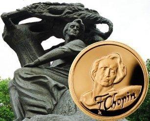 1 $, Fryderyk Chopin - 200. rocznica urodzin (1810-1849), 2009
