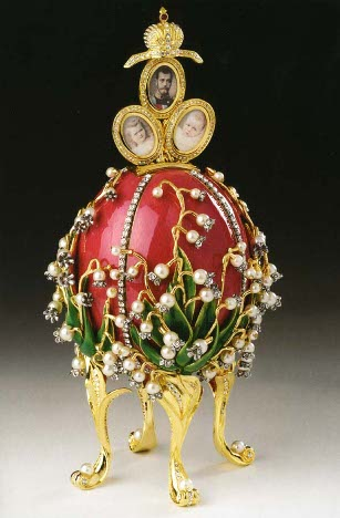 Historia Jaja Faberge - Jajko z konwaliami