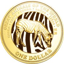 1$ x 8, Great Animals of The World, 2009