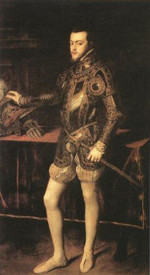 król Filip II Hiszpański