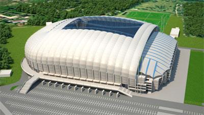 1 $, Polskie Stadiony 2012 - Poznań, 2010