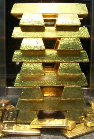 gold bars from Poland - złote sztabki z Polski