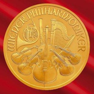 Złota moneta bulionowa Wiedeńscy Filharmonicy / Wiener Philharmoniker