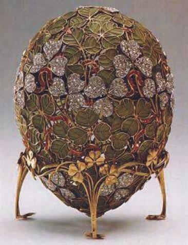 2 $, Historia Jaja Faberge - Jajo koniczynowe, 2010
