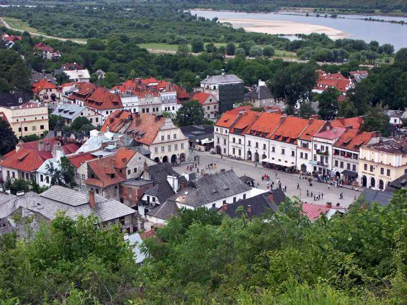 Srebro - 20 zł, Zabytki kultury materialnej w Polsce - Kazimierz Dolny, 2008