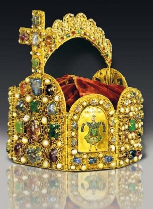 100 Euro Korony Habsburgów - Korona cesarza Ottona I