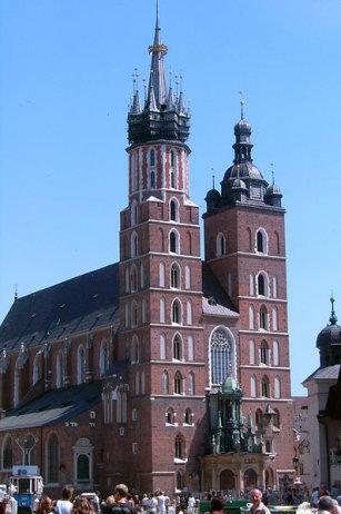 Ko�ci� Mariacki w Krakowie