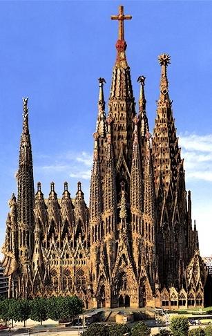 10 dollars, Mineral Art - La Sagrada Familia / Bazylika Świętej Rodziny w Barcelonie, 2010