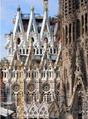 Mineral Art - La Sagrada Familia / Bazylika Świętej Rodziny w Barcelonie, 2010