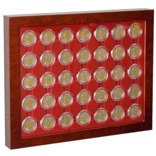 Kaseta firmy Leuchtturm  na monety - typ LOUVRE