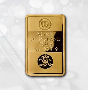 złote sztabki Mennica Polska
