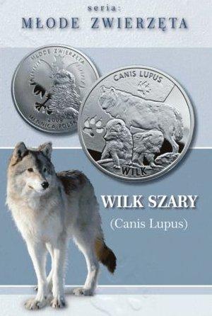 www.numizmatyczny.pl Kolekcja Młode Zwierzęta: Wilk (Canis lupus), 2009